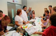Entrega Sedesol material para cursos y supervisa comedores comunitarios