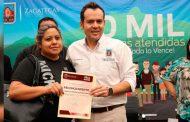 Atiende Ulises Mejía a más de 10 mil personas en 30 Audiencias Públicas