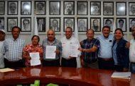 Firma SNE convenio con municipios de la región de Pinos; ejercerán más de 7 mdp