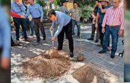 Encabeza Miguel Torres campaña de reforestación.