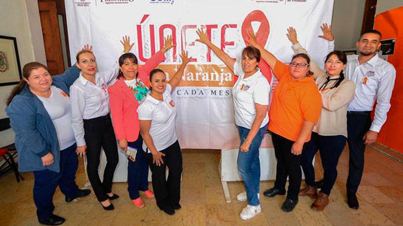 INMUFRE y Universidad Sierra Madre, Celebran el día naranja