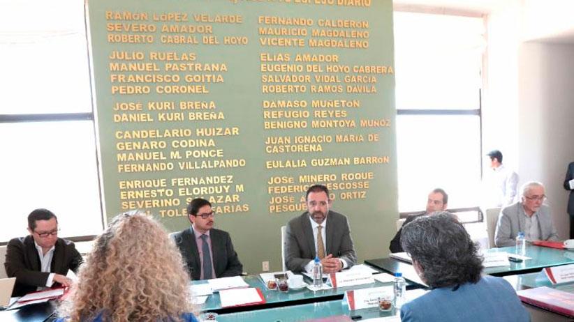Encabeza Alejandro Tello sesión del consejo directivo del Instituto Zacatecano de Cultura