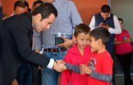 Inaugura Ulises Mejía comedor comunitario para mejorar la alimentacion de menores zacatecanos