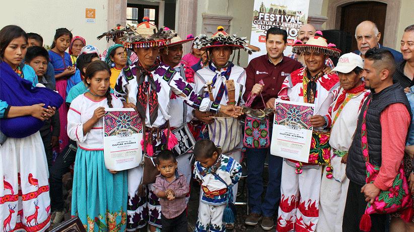 El municipio de Guadalupe hace historia  con el Primer Festival Wixárika