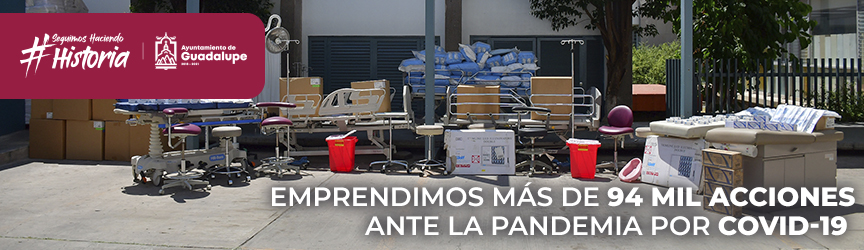 Apoyos covid Guadalupe