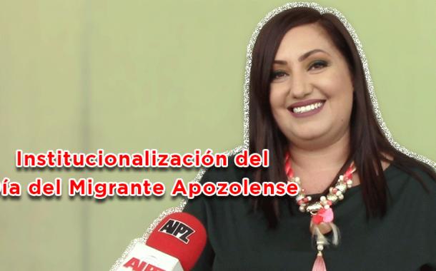 Video: Institucionalización del Día del Migrante Apozolense