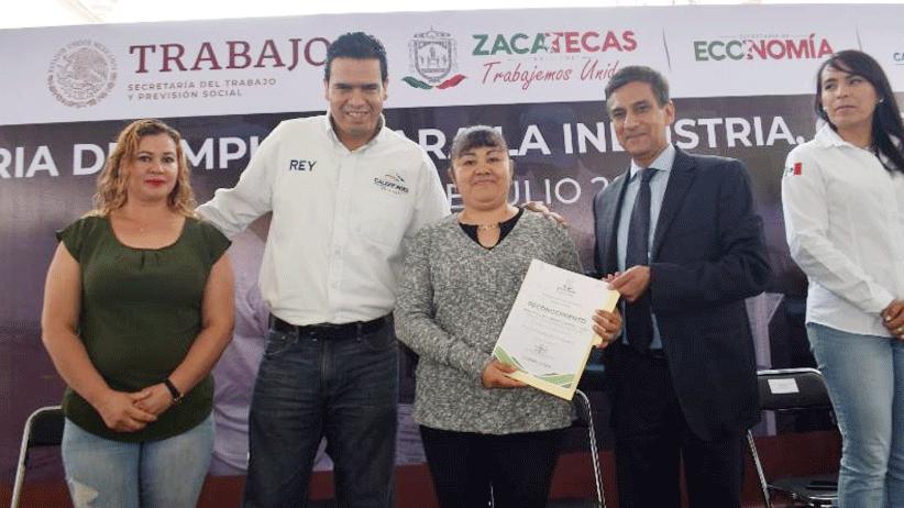 Realiza Gobierno Estatal Feria del Empleo Calera 2019