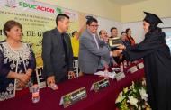 Clausura el alcalde Saúl Monreal actividades de Bachilleratos de El Mineral