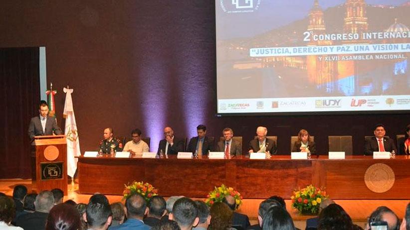En Zacatecas seguiremos trabajando en función del estado de derecho: Jehú Salas
