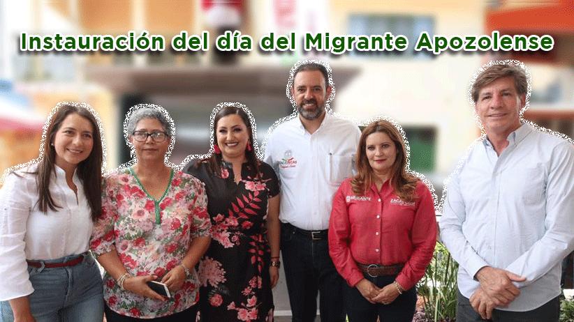 Video: Instauración del día del Migrante Apozolense