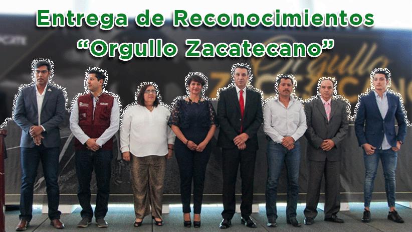 """Video: Entrega de reconocimientos """"Orgullo Zacatecano"""" a atletas destacados"""