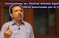 Video: Obras autorizadas por el 2X1 y Conclusiones 1er. Festival Antonio Aguilar