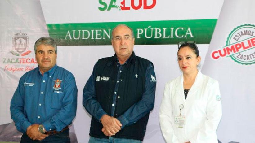 En Audiencia Pública, pobladores de Bañón solicitan ampliación del centro de salud