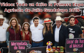 Video: Todo un éxito la Primera Expo Agrícola de Julio Guadalupe 2019
