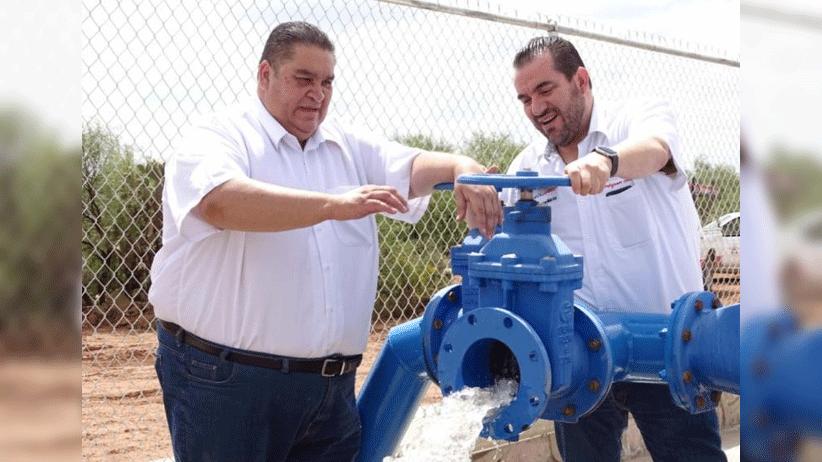 Inaugura Gobierno del Estado un pozo y línea de conducción de agua potable en Villa de Cos