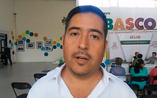 Video: Audiencia publica en Tabasco con el Director de salud Estatal. Dr. Gilberto Breña Cantú