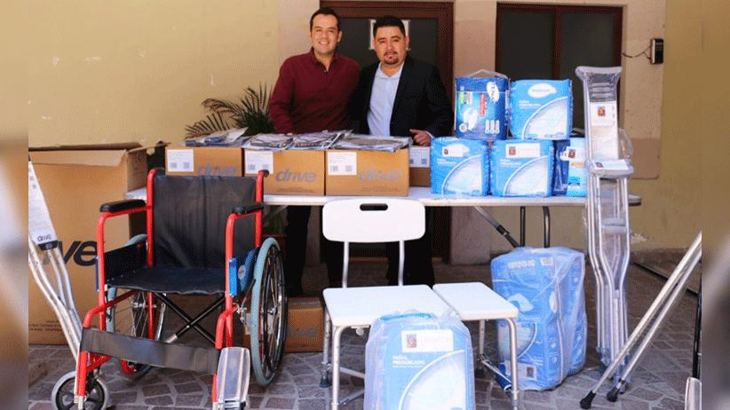 Alcalde Ulises Mejía Haro comparte con municipios donativo médico gestionado en Utah