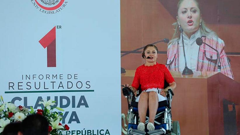 Primer Informe de Actividades Legislativas, Senadora Claudia Anaya