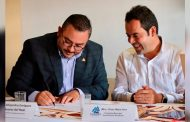UNE esfuerzos Ulises Mejía con cámaras empresariales por el combate a la corrupción