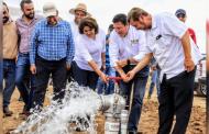 Incorporan 40 hectáreas al riego en Guadalupe
