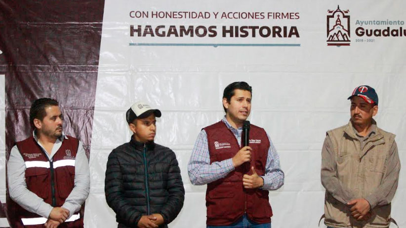Venimos a trabajar y dar resultados para las familias Guadalupenses: Julio César Chávez