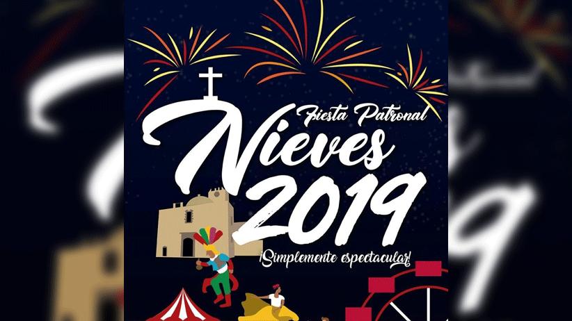 Conoce el Programa del Teatro del Pueblo de la Fiesta Patronal Nieves 2019