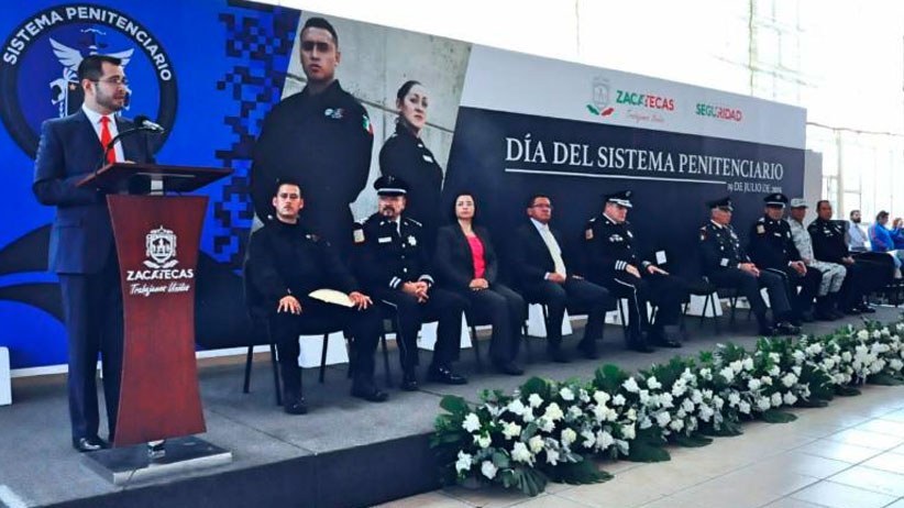 Conmemoran Día del Sistema Penitenciario en Zacatecas