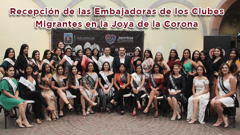 Video: Bienvenida a las Reinas de los Clubes Migrantes de Zacatecas