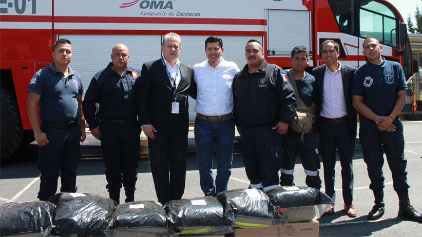 Recibe Protección Civil de Guadalupe, equipo táctico