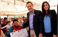 Ulises Mejía, Comprometido con la inclusión y el apoyo a personas con discapacidad