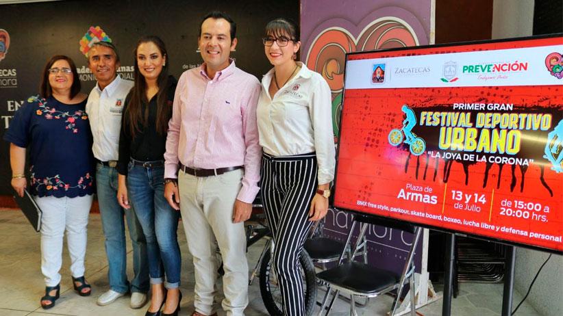 Anuncia Ulises Mejía el Primer Festival Deportivo Urbano en la capital