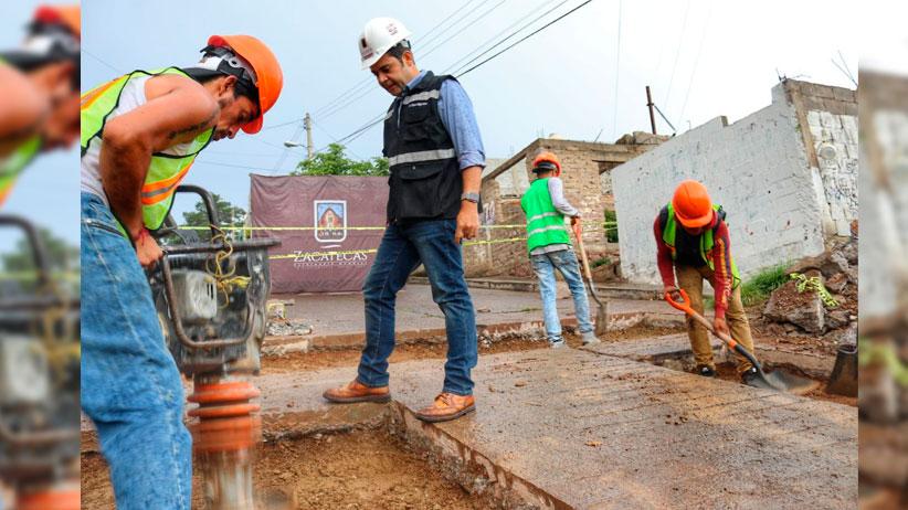 Reporta Ulises Mejía Haro avance del 57% En los mas de 9 mil 700 baches detectados en la capital