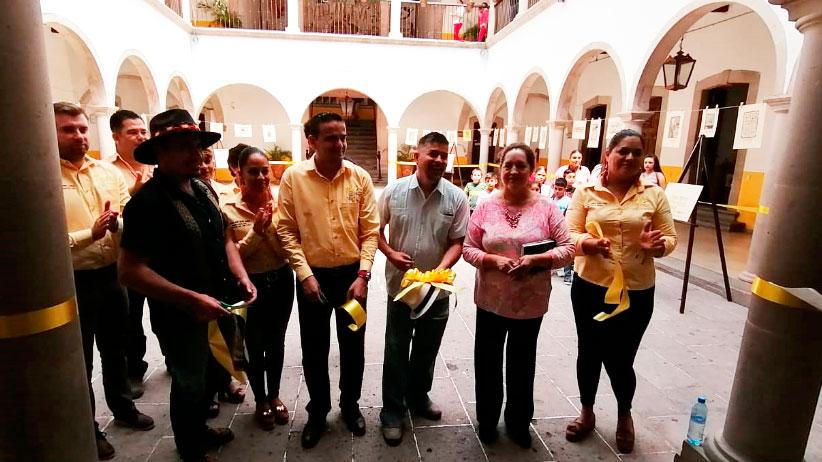 Se inaugura en Villanueva exposición de grabado