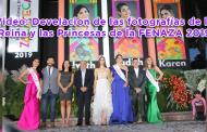 Video: Develación de las fotografías de la Reina y las Princesas de la FENAZA 2019