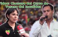 Video: Clausura del Curso de Verano del Incufidez