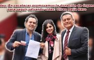 Video: En zacatecas promovemos la donación de órganos para seguir salvando vidas: Ulises Mejía Haro
