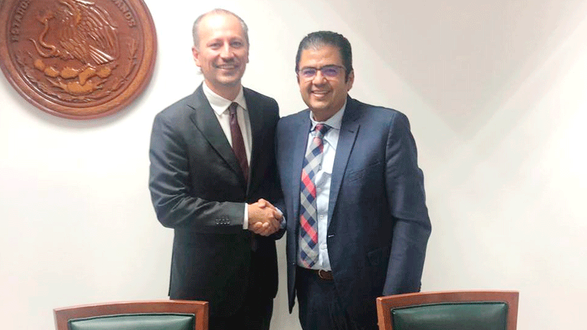 Acuerdan titular de SEDESOL  y Director de INAES fortalecer economía social en Zacatecas