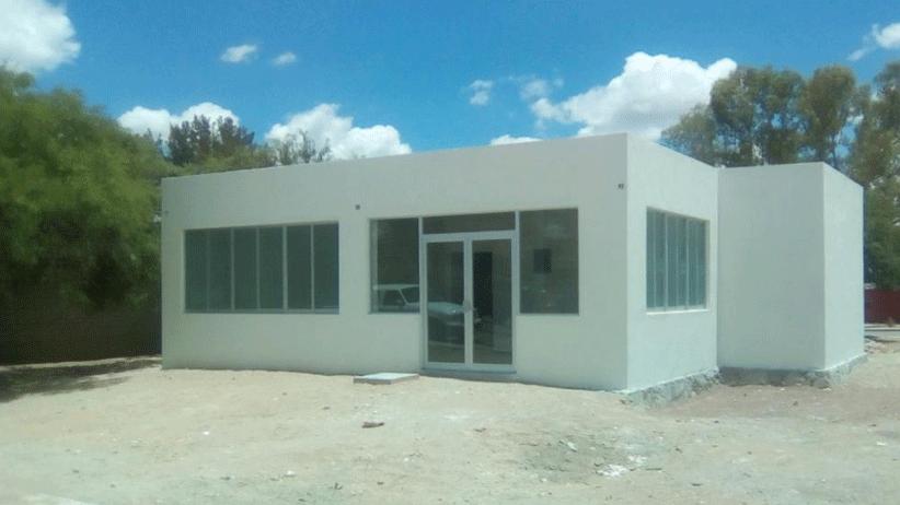 Al 75%, Rehabilitación de Casa de Salud en el Copetillo, Villa García