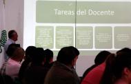 Reciben orientación maestros de nuevo ingreso al COBAEZ