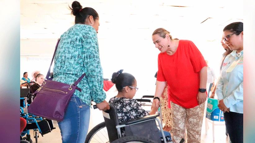 Con la entrega de apoyos funcionales Gobierno Estatal beneficia a 756 personas con discapacidad