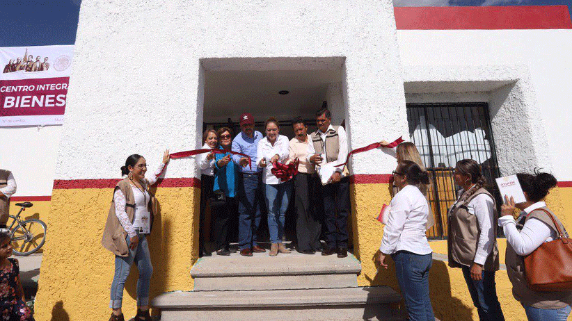 Se inauguran centros integradores de Bienestar en Jalpa y Villanueva