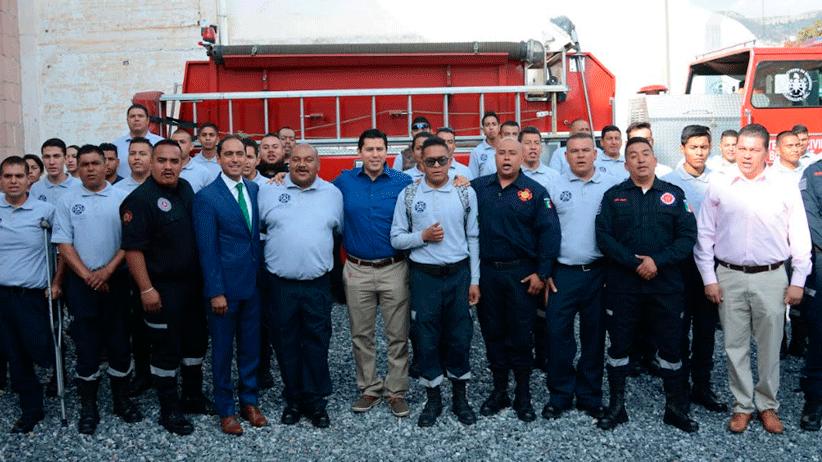 Reconoce Julio César Chávez Padilla a los bomberos de Guadalupe