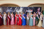 Imponen bandas a las 14 participantes del certamen Miss Teen Zacatecas 2019