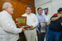 Nombran a Saúl Monreal Ávila: Visitante Distinguido y le entregan las llaves de la ciudad de Mazatlán