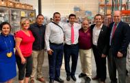 Ulises Mejía Haro gestiona en Utha proyectos comerciales, académicos y laborales por el bienestar de las familias Zacatecanas