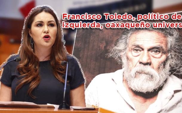 Video: Francisco Toledo, político de izquierda, oaxaqueño universal