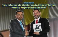 Evento en vivo: 1er. Informe de Gobierno de Miguel Torres