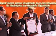 Video: Miguel Torres nuevo Presidente de la Red Nacional de Municipios en Situación Migratoria