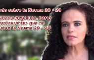 Video: Todo sobre la Norma 20-20 y multas a bares restaurantes y negocios que no acaten