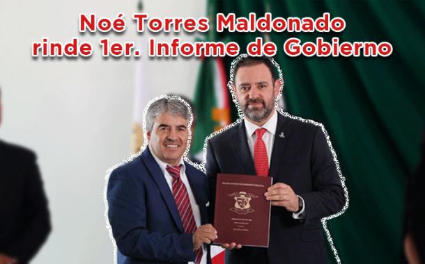 Noé Torres Maldonado rinde 1er Informe de Gobierno